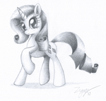 Mane 20 Challenge: 4 - Rarity by Zyncrus