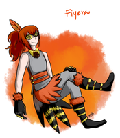 Fiyera by Pidoodle