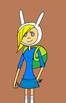 Adventure Tme - Fionna The Human by kbinitiald