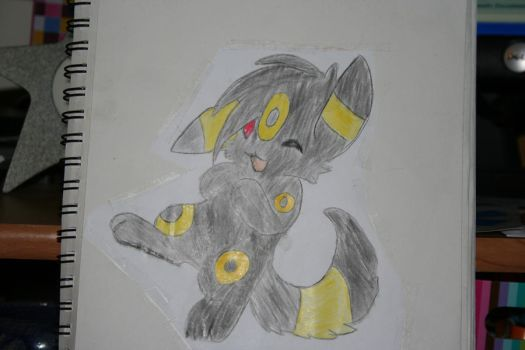 umbreon fan art by umbreonford