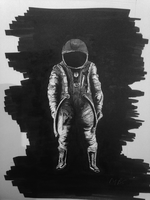 Astronaut small by MBC by mirceabotez