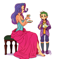 Morning tea by Osato-kun