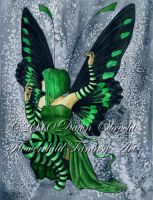 The Green Faerie by jenely