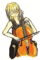 Mello's Cello by CielDeSonges