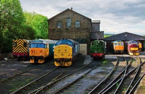 Diesel Sheds KWVR Gala by irwingcommand
