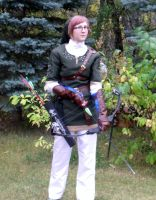 Link Cosplay - Bow and Arrow by FourSwordsFanAMZ
