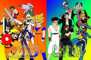 Shonen Jump vs Capcom by ssvineman