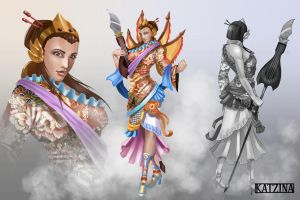 Sheng wu, League of Legends champion concept. by KatZina