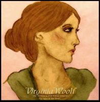 Virginia Woolf WIP by lilynoelle