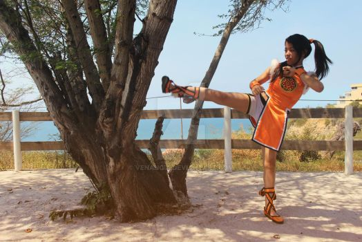 Ling Xiaoyu - Tekken Cosplay by venancia