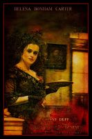 Sweeney Todd Movie Poster XI by Rickbw1