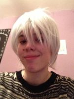New Wig - Prussia and Jack Frost by GrayIceFullBuster