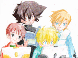 Digimon Guys by Melissa-T