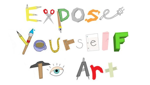 Expose Yourself To Art by OBEY-OBEY