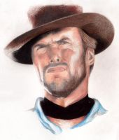 Clint Eastwood by Lintsi