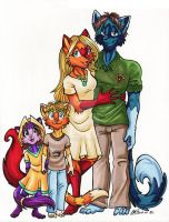 McTaword Senior Familly by ManueC