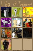 Yearly Improvement Meme 8D by Amerikat