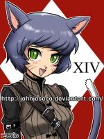GAF Miqote Avatar by johnjoseco