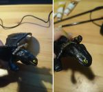 HTTYD 2 McDonalds toy REPAINT by 77Flower77