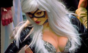 Me Cosplaying as Black Cat by AmiNakajima