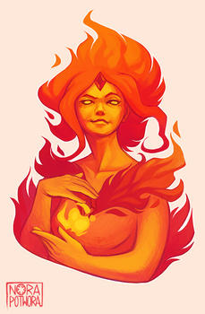 Flame Princess by norapotwora