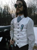 Chrononaut's Royal Guard Vest by EngineerandTheGypsy