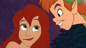 Ariel and Peter by xxAmity0Parkxx