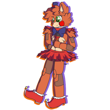 Circus Baby the Bear by vvthegiraffe