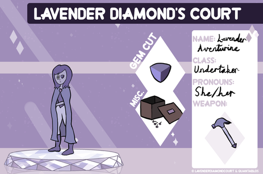 Lavender Aventurine by Sugarhoneymouse