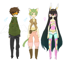adoptables 1 CLOSED by craighat