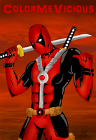 Deadpool by ColorMeVicious
