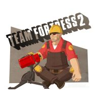 Team Fortress 2: Engineer by Essence-Of-Rapture