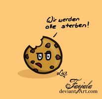 The pessimistic Cookie by Faejala