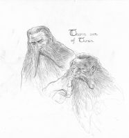 Thorin son of Thrain by TurnerMohan