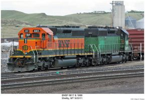 BNSF 6817 + 1689 by hunter1828