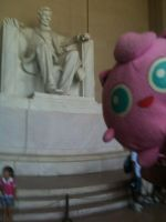 Jigglypuff meets Abraham Lincoln by MarcoDelMarco
