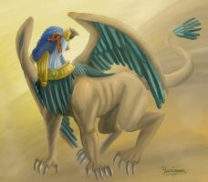 Hieracosphinx by yurionna