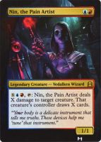 Nin the Pain Artist alter by MimiMunster