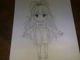 Friend Request me to draw Takanashi Hina by Edisonting