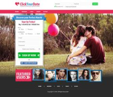ClickYourDate.com by rp-designs