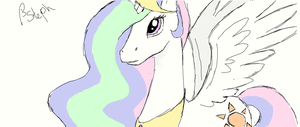 Celestia - First attempt with Muro by Tall-Dwarf22