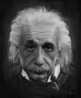 Einstein by silverghostDK