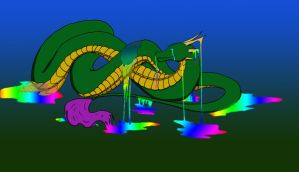 Melting Serpent by Brookie-Tippe