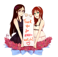 Thank you for 1000 watch! by KuroCyou