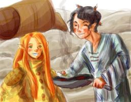 Twig and Maugin by ShooLongtail