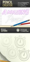 Pencil Creator - Photoshop Actions by survivorcz