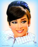 Audrey Hepburn by andy-pik9