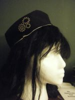 First Attempt: Pillbox Hat by Opal-Heart126