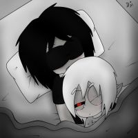 Waking Up by ask-jeff-teh-killer