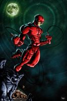 Daredevil by pnutink